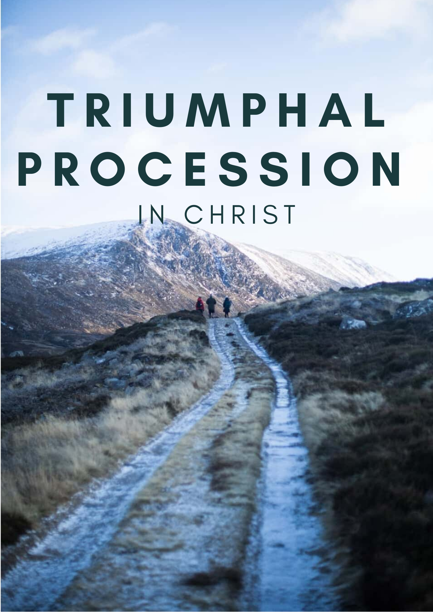Triumphal procession in Christ