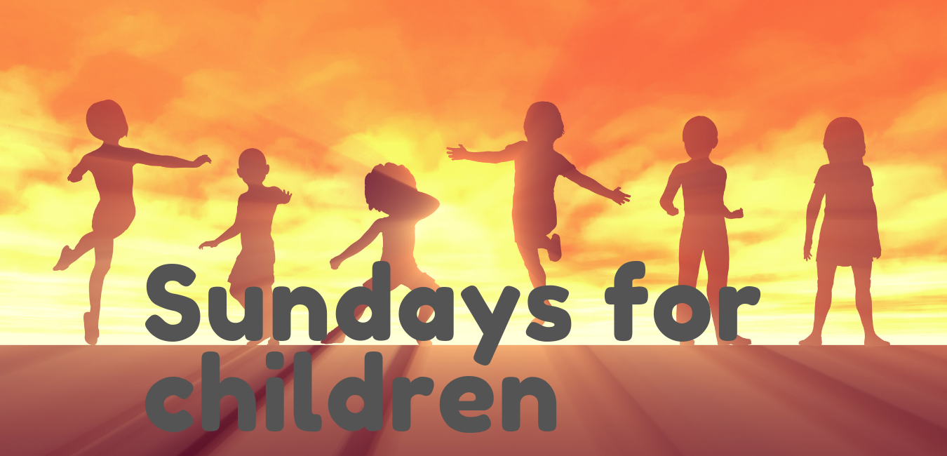 sundays for children banner
